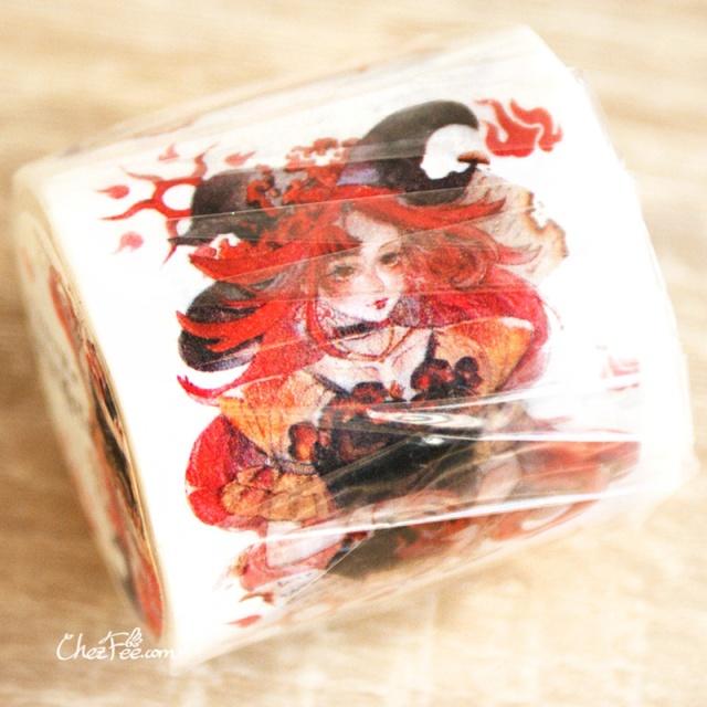 joli masking tape washi tape motif sorciere magique chezfee